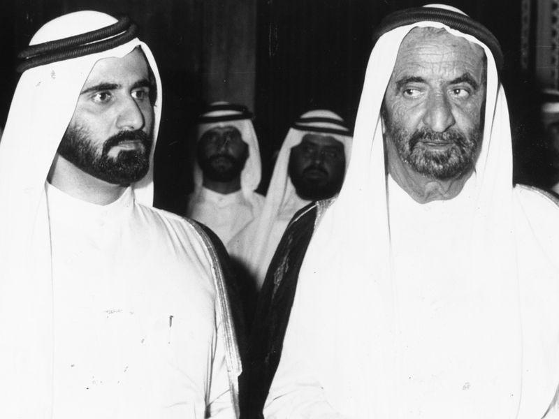 20191007_Sheikh Mohammad and Sheikh Rashid