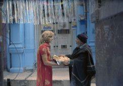 Arif Hasan and a transgender actor in a still from ZINDAGI TAMASHA-1570435893562