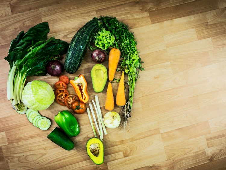 Dubai Health Authority nutrition vegetables
