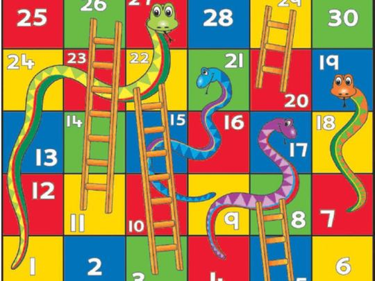 Off the cuff: Snakes and Ladders, Monopoly and Cluedo