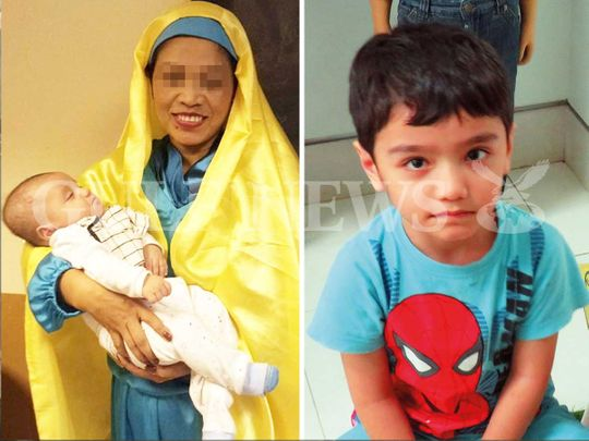 old woman looking for boy in dubai