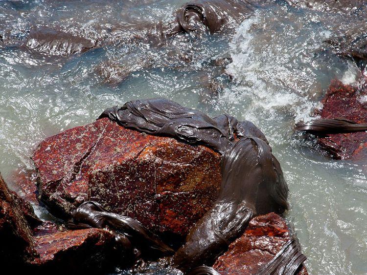 Brazil oil spill