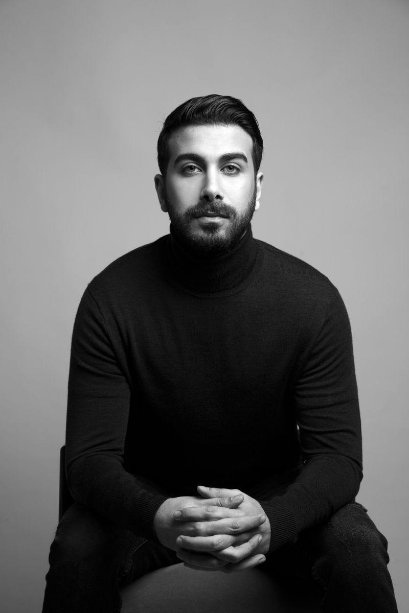 Designer Hussain Bazaza.