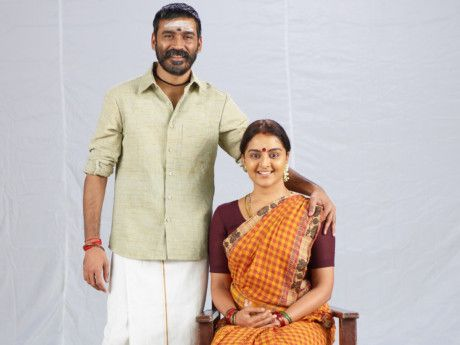 Dhanush with Manju Warrier in Asuran-1570547483502