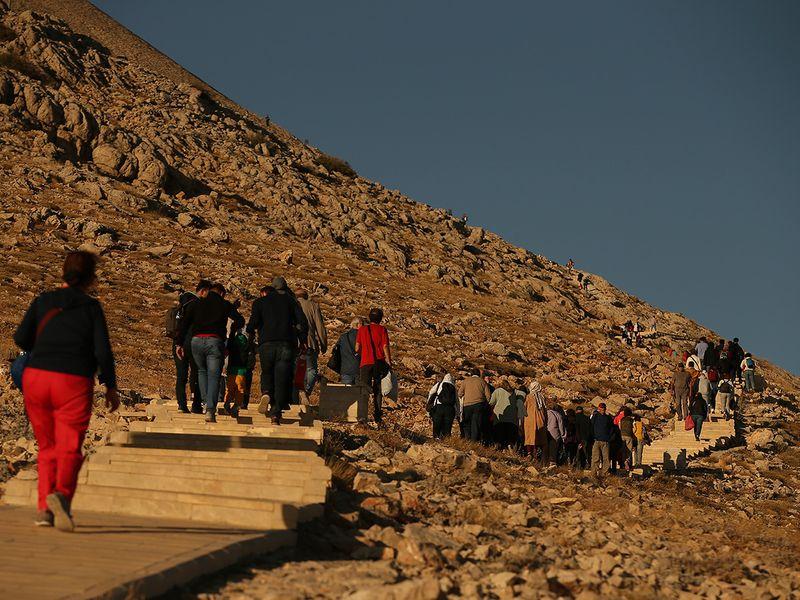Mount Nemrut in Adiyaman