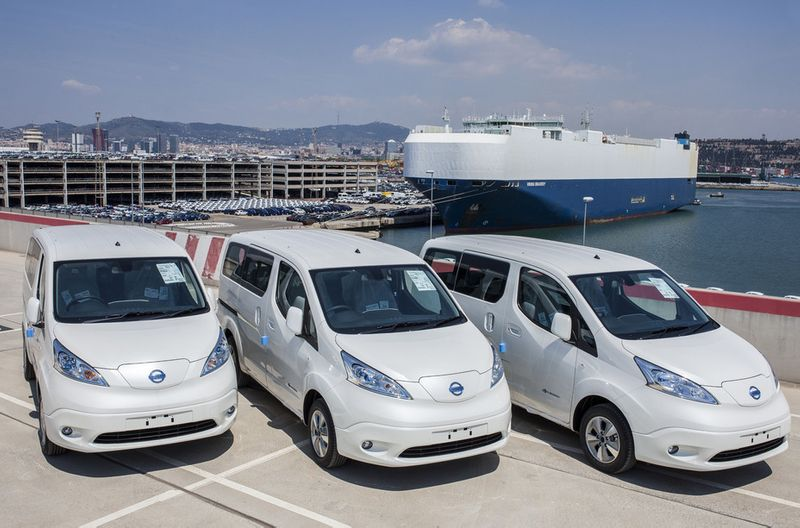 Nissan e-NV200 electric van posts