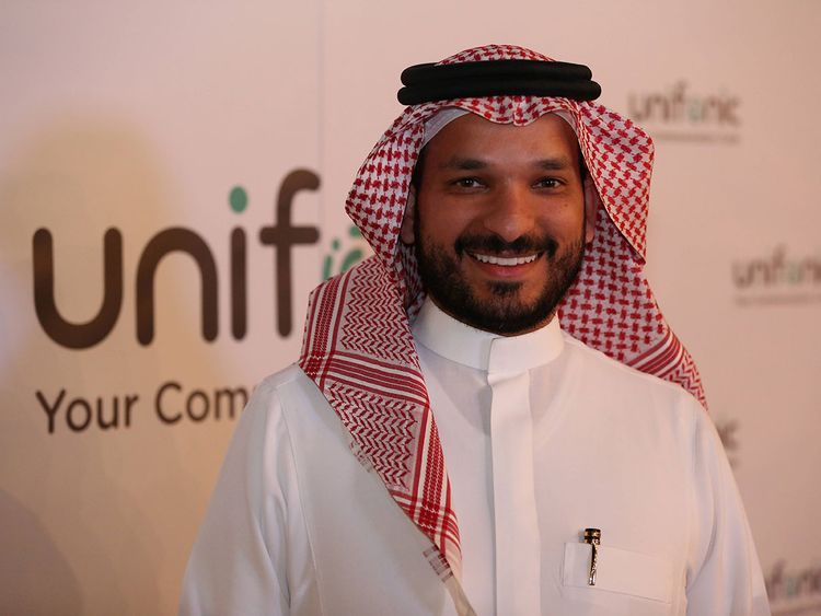Ahmed Hamdan, CEO and founder of unifonic 00010