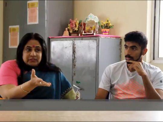 Jasprit Bumrah, mother share days of struggle in social media video