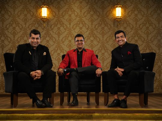 Akshay Nayyar, Gaurav Tandon and Sanjeev Kapoor-1570689603821