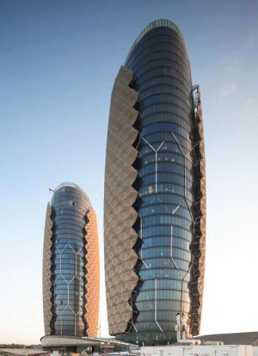 Al Bahar Towers in Abu Dhabi