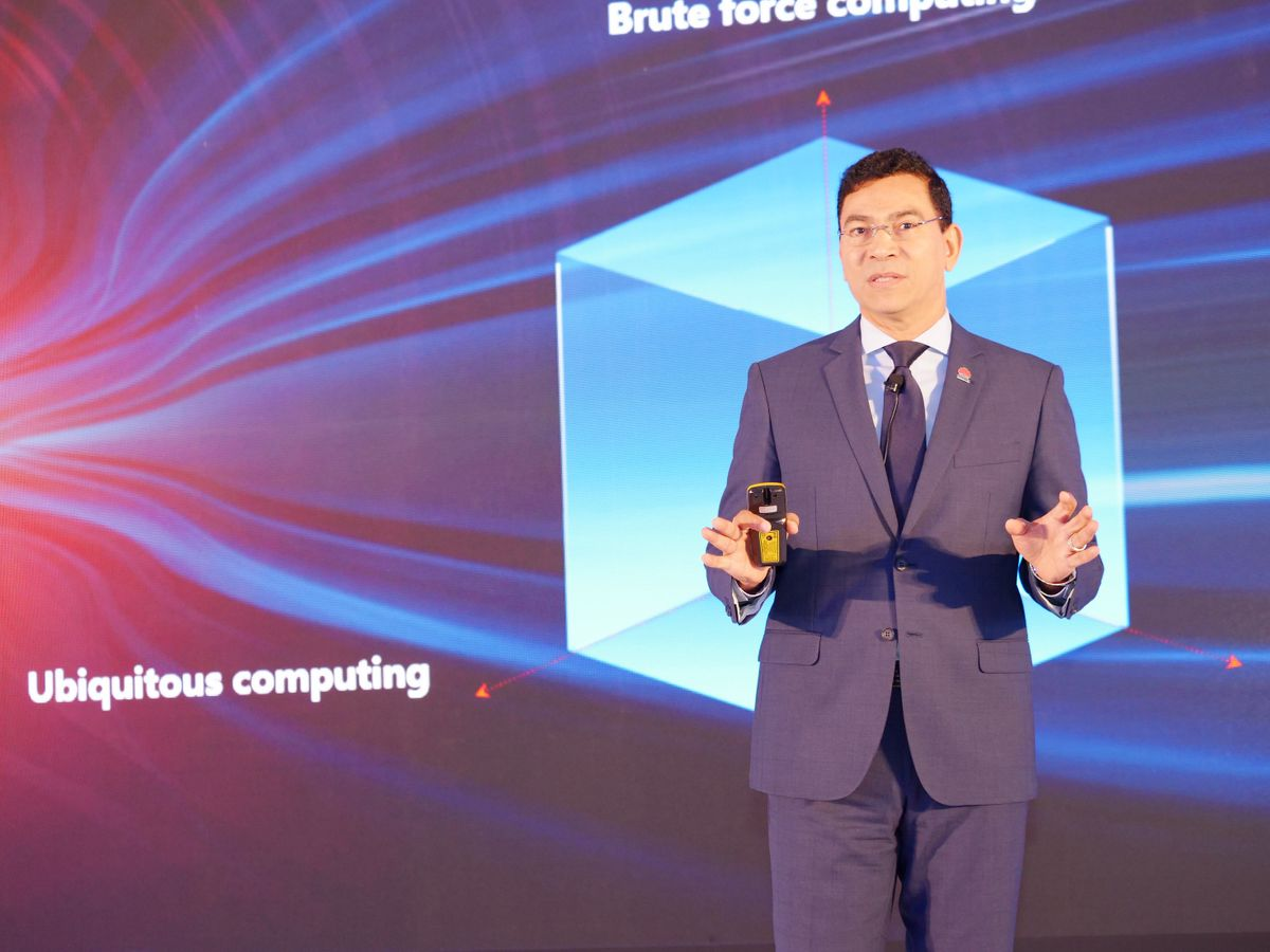 Alaa ElShimy, Managing Director and Vice President, Huawei Enterprise Business Group