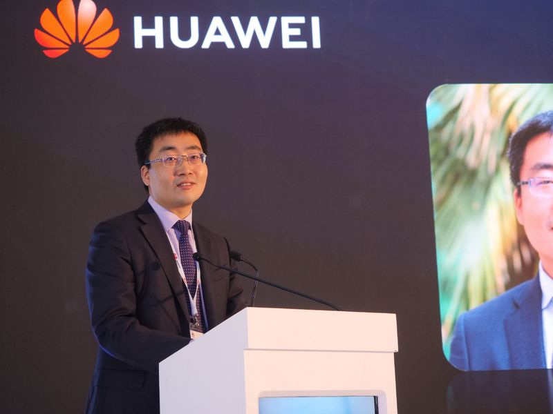 Anjian, President of Carrier Networks Business Group, Huawei Middle East