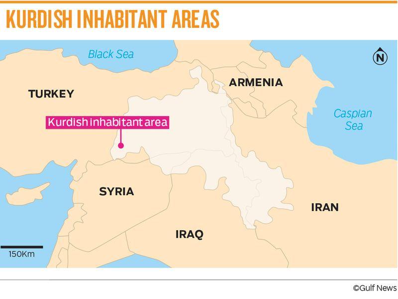 Kurdish areas 20191010
