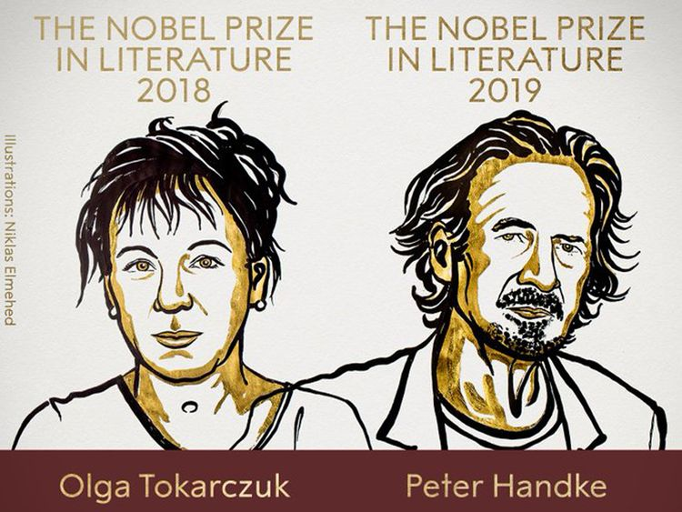 Nobel Literature 2018 2019