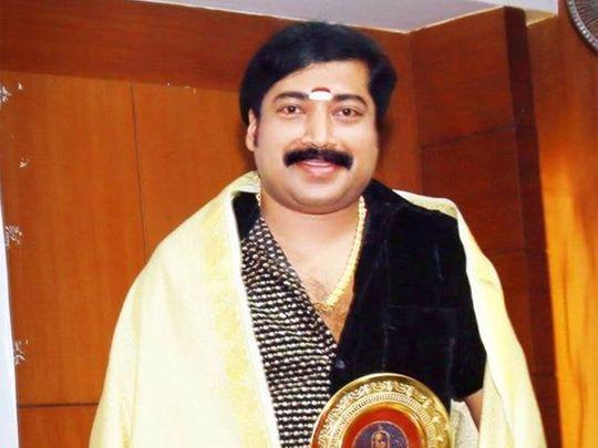 Popular astrologer, Krishnakumar from Kattapana