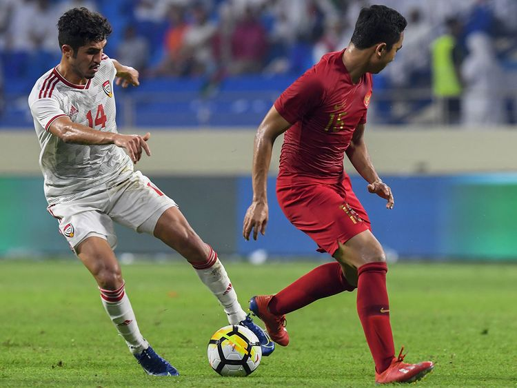 UAE vs Indonesia 20191010
