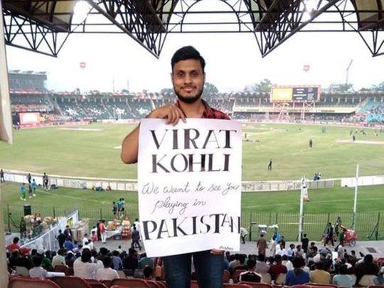 Virat Kohli fan