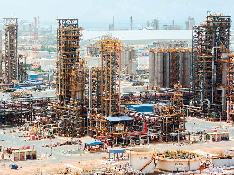 Adnoc's Ruwais Industrial Complex