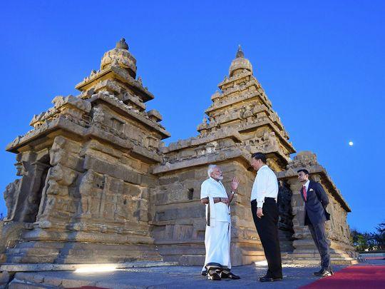 Narendra Modi with Chinese President Xi Jinping