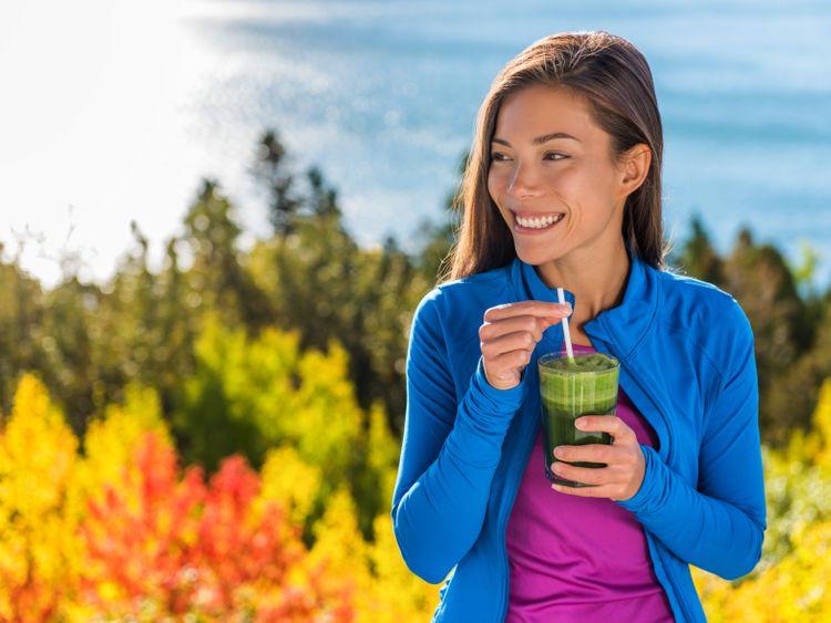 OPN 191011 drinking kale juice-1570798088300