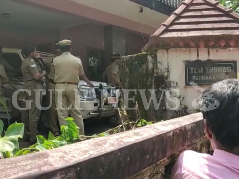 Police at Ponnamattam house