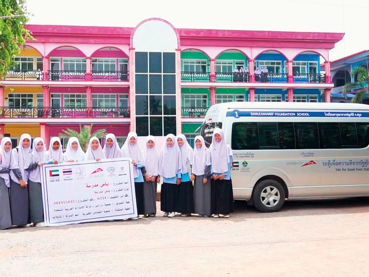 RTA donates two buses to remote schools in Thailand