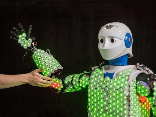 Robot skin 201910