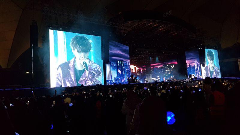 BTS Suga performing Seesaw-1570867250413