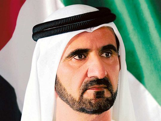 191013 His Highness Sheikh Mohammed Bin Rashid Al Maktoum protocol picture