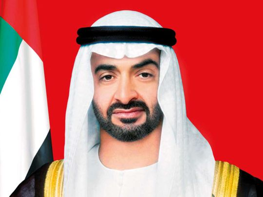191013 Sheikh Mohammed Bin Zayed Al Nahyan protocol picture