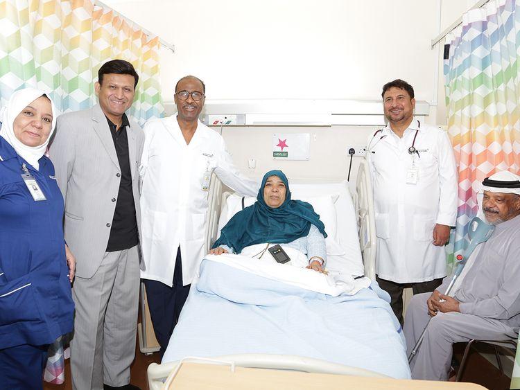 Dubai Health Authority Heart Attack Survivor