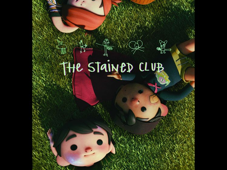 The poster of 'The Stained Club'