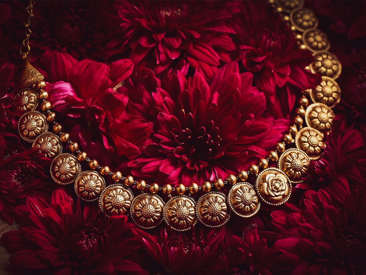 Damas choker Maharani collection