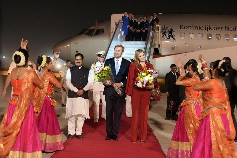 Dutch King Willem-Alexander and Queen Maxima