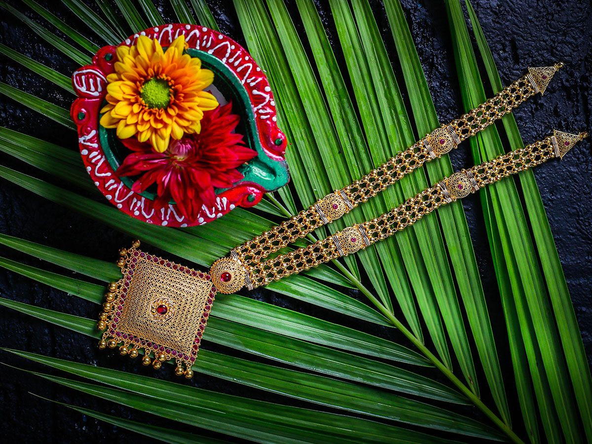 Necklace traditional Damas