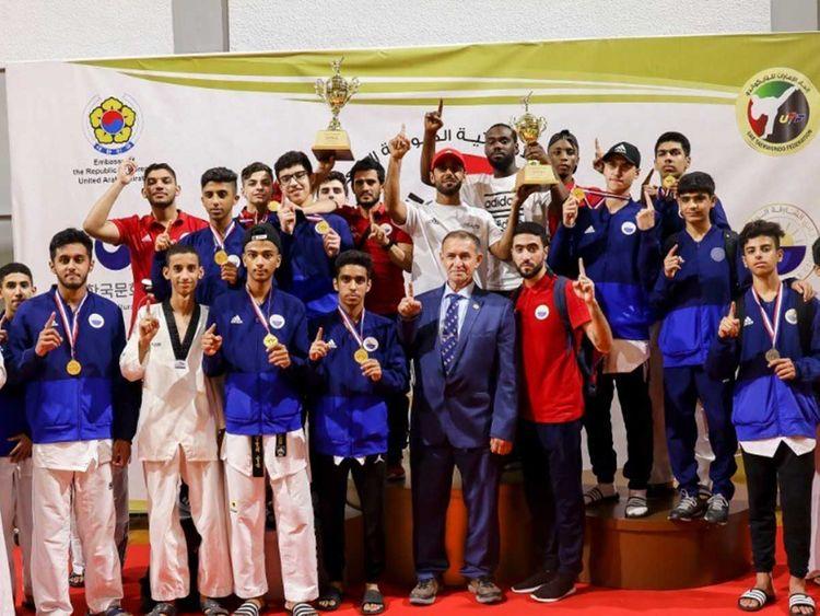 Sharjah Club Taekwondo team