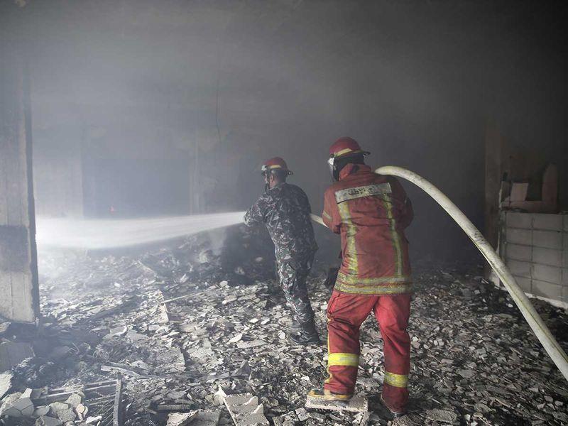 191015 lebanese firemen