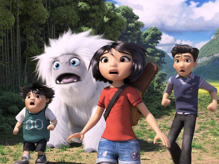 Chloe Bennet, Albert Tsai, and Tenzing Norgay Trainor in Abominable-1571138322662