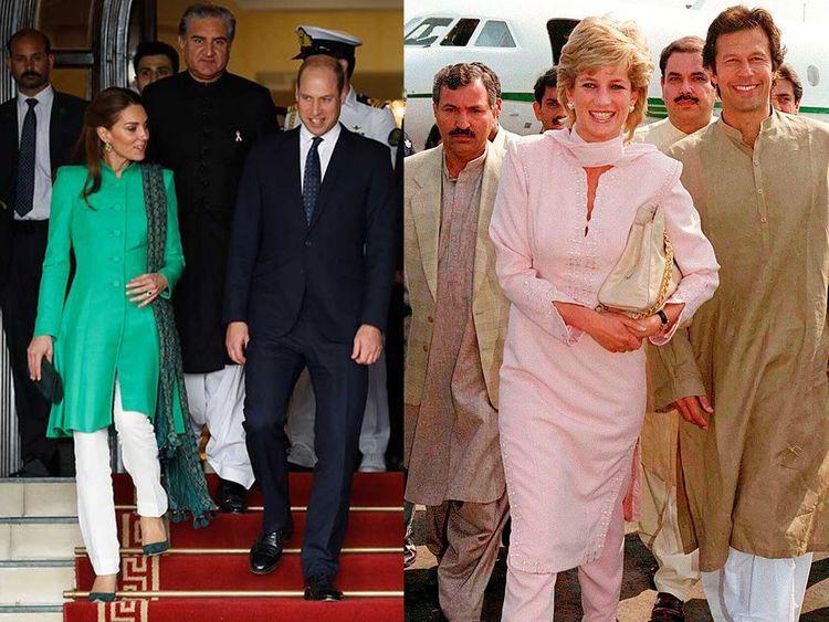 Kate DIana in Pakistan
