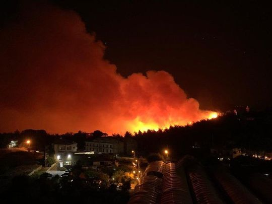 Labanon fires