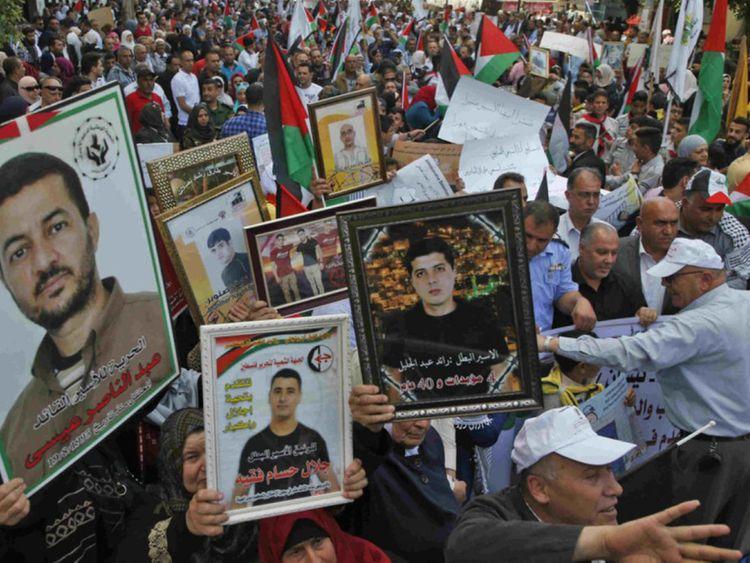 opn Palestinian prisoners in Israel-1571138263797