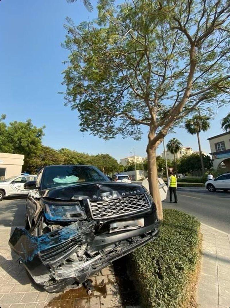 Car ran over security guard UAS