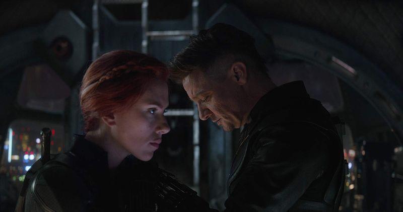 Scarlett Johansson and Jeremy Renner in Avengers Endgame-1571210807063