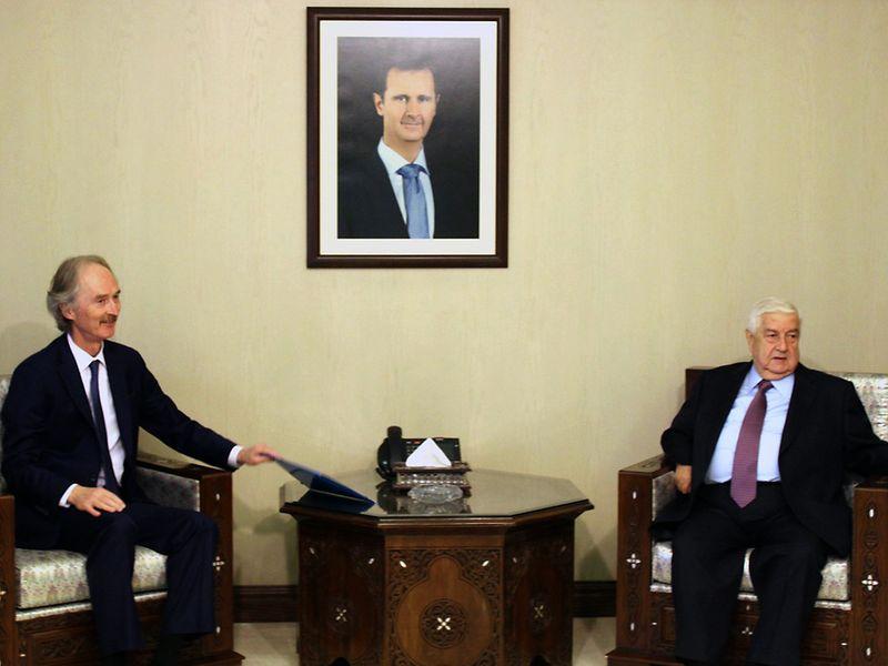 SyrianforeignministerWalidMualem