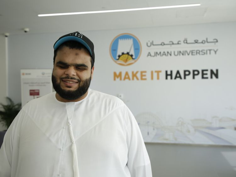 NAT 191017 This visually-impaired Emirati knows no impossible-1571303534345