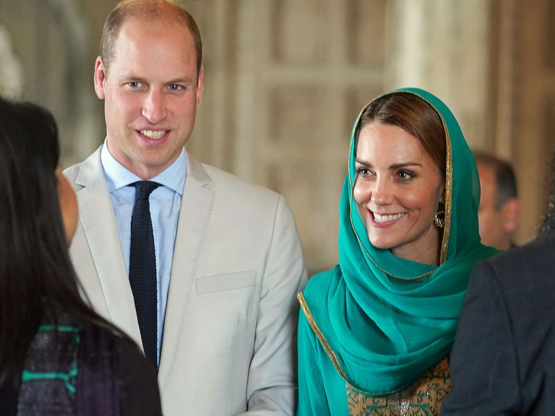 Prince William and Catherine (Kate)