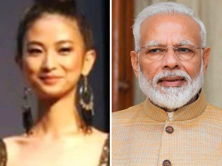 Vikuonuo Sachu and Narendra Modi