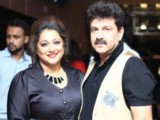 Manoj Prabhakar and his wife Farheen