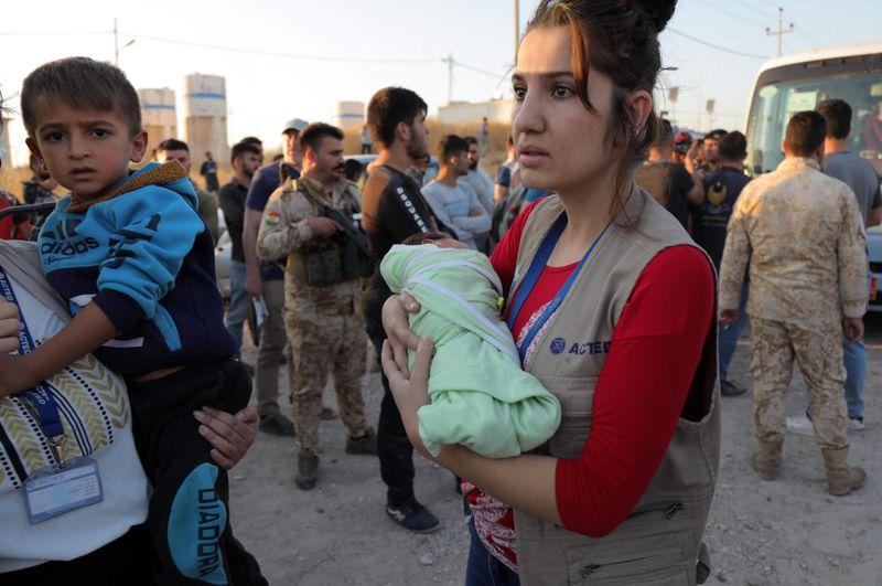 REG Kurds flee.-1571381067381