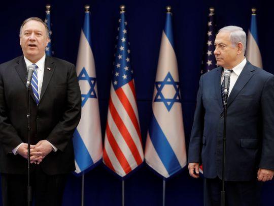 REG Netanyahu Pompeo-1571399037394